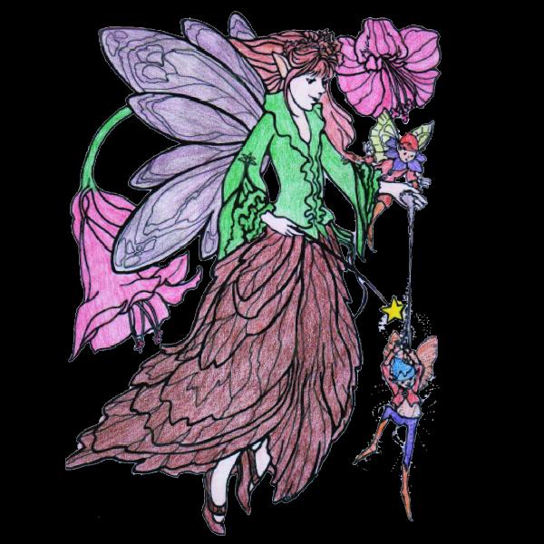 Coloriage elfe centerblog - Coloriage elfe ...